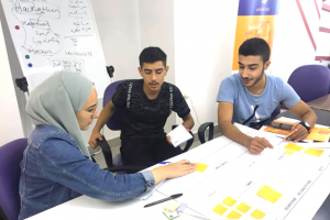 Youth from the North of Lebanon collaborate in the PeaceTech Youth Hackathon