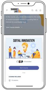 the e-learning platform shabab lab